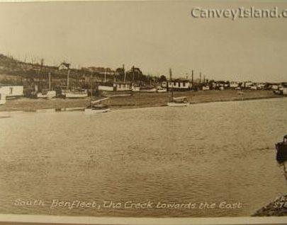 Looking East along Benfleet Creek from Canvey Island | David Bullock