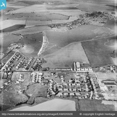Canvey from the Air