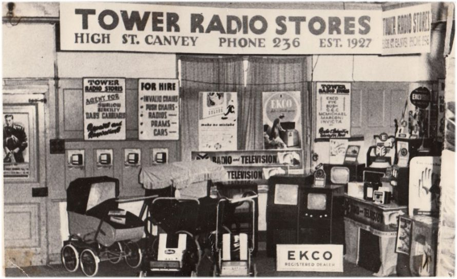 The Tower Radio Shop | Courtesy of the Transport Museum