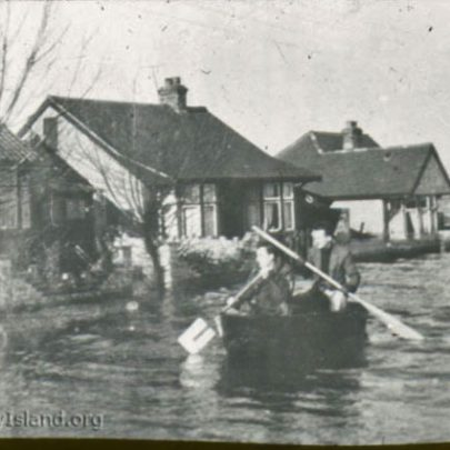 Seaching for survivors. Last house on the left hand side of New Road looking towards Wintergardens | Norman Chisman