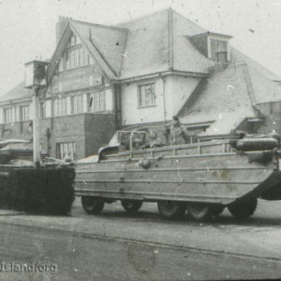 A dukw outside the Admiral Jellico | Norman Chisman