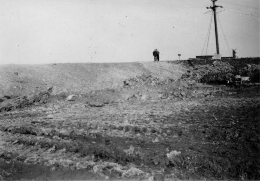 Seawall still showing signs of repairs   Ernest Cutler
