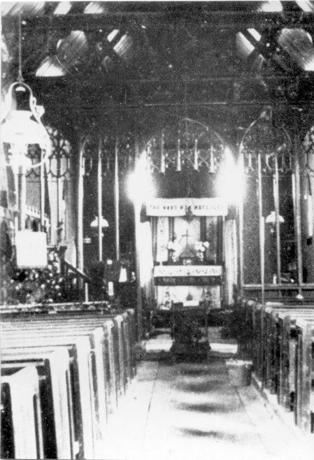 Inside St Katherine's Chuch