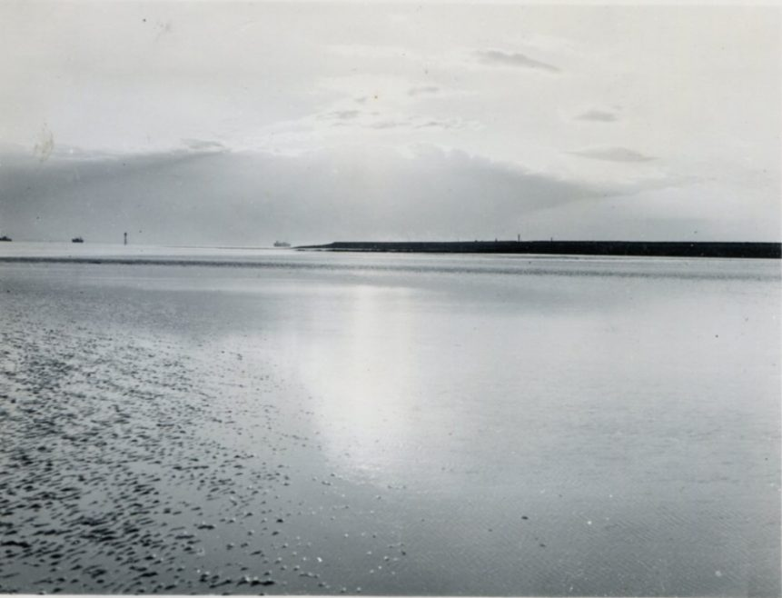 The caption for these two photos is 'Calm Seas' | H Reed