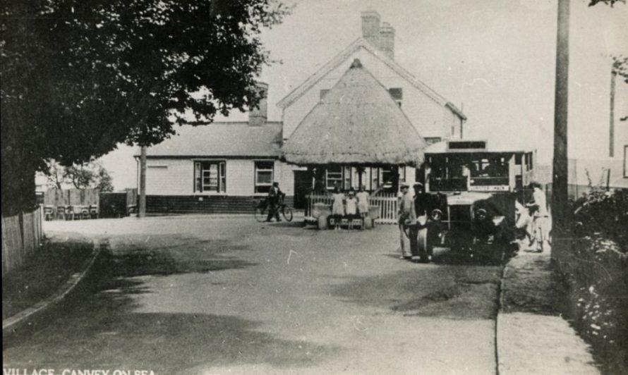 Canvey Village Postcard