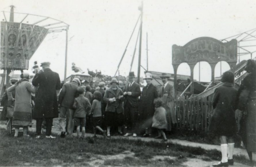 All the fun of the fair on the site that was to become the Casino | Henry Clubb