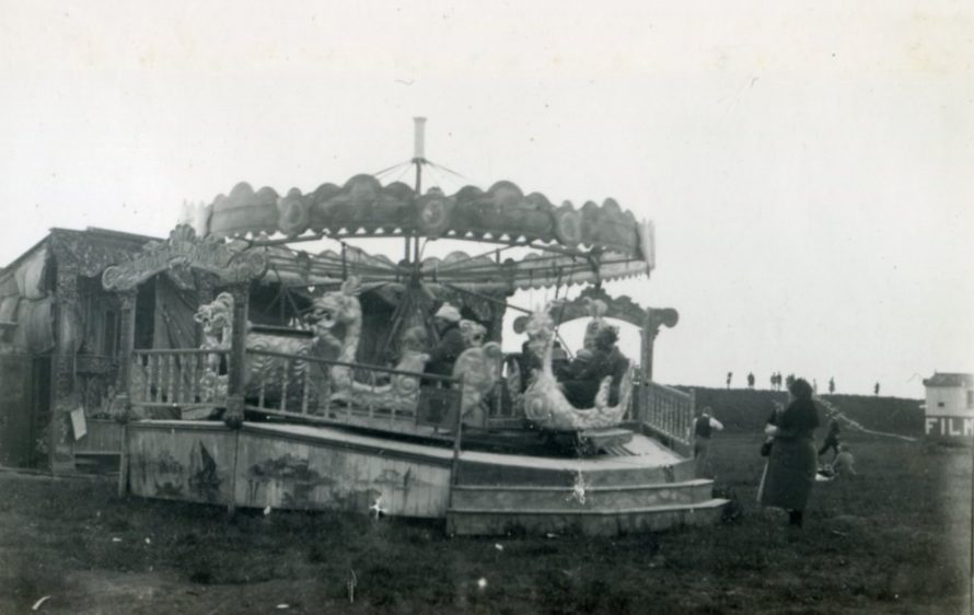 ....a roundabout was much safer and more sedate in 1925 | Henry Clubb
