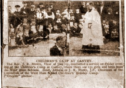 Rev Joseph Brown and the Childrens' Camp