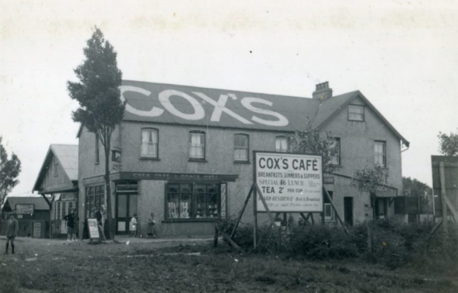 Cox's Hotel, Cafe and dance hall | Henry Clubb