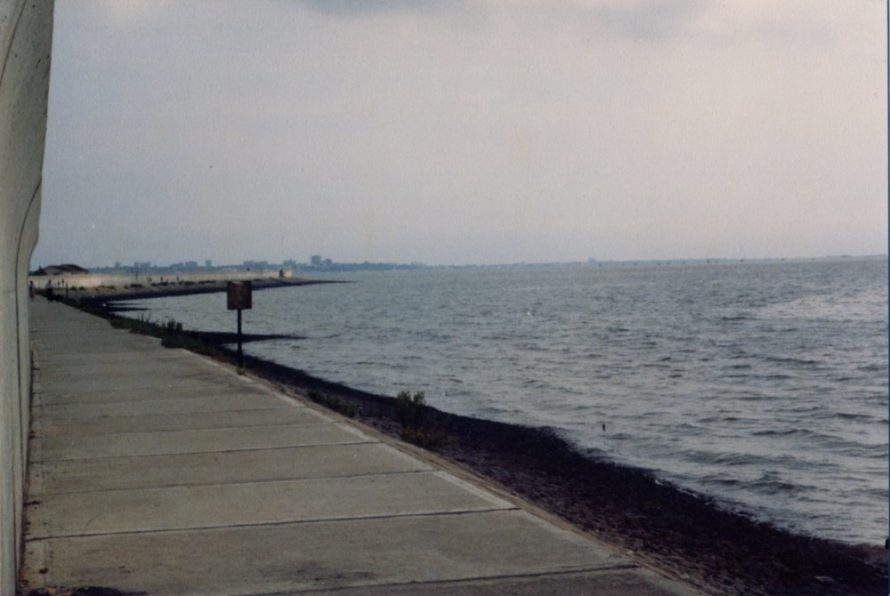 Looking towards Southend, you can just make out the pier | Ernest Cutler