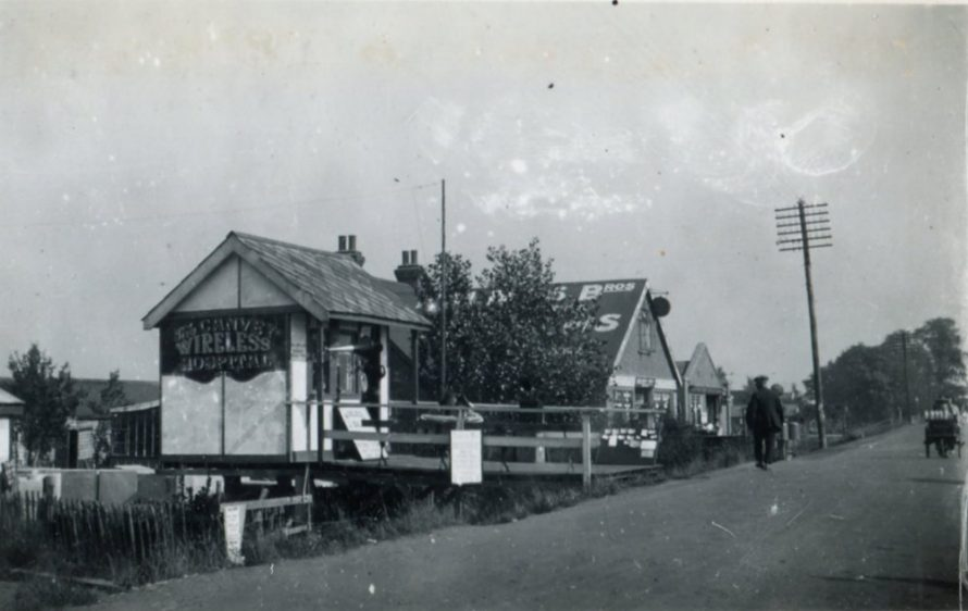 The Wireless Hospital, High Road near Small Gains