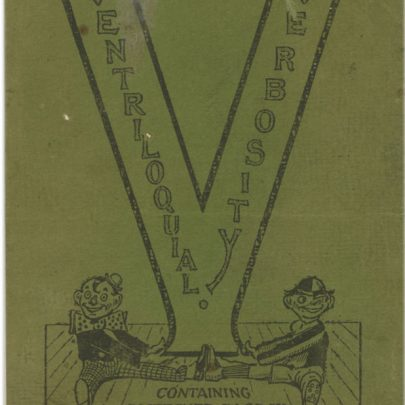 Paul Capser's Ventriloquial Verbosity Book | Dave Bullock