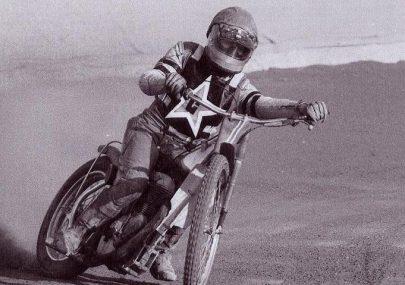 Vic Harding - Speedway Rider