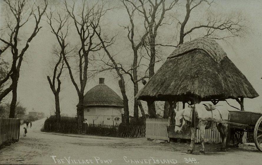 Pump and Dutch Cottage