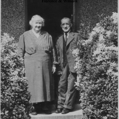 The Parents - William and Florence Hoad ay Stavelot in Wilrich | John Buckmaster