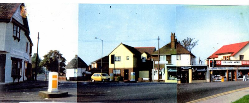Canvey Village with 1621 Dutch Cottage in Haven Road   Wendy Knight