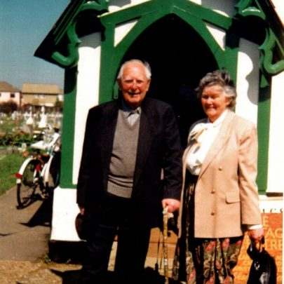 Rev Fleetwood with his wife were invited to the Heritage Centre to meet many of the brides who had been married in the church. | Wendy Knight