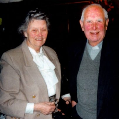 Rev John Fleetwood and his wife Joan inside the Heritage Centre aka St Katherine's church in 2000. | Wendy Knight