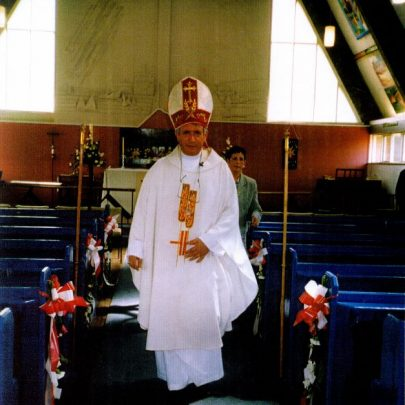 27th May 2002 15th anniversary of the St Nicholas Centre being built on th einstruction of the, now, Bishop Stevens. | Wendy Knight