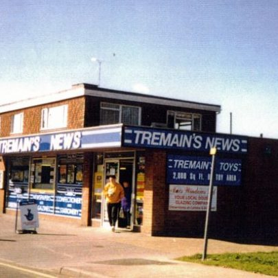 Tremains newsagents corner of Long Road and Craven Avenue. | Wendy Knight