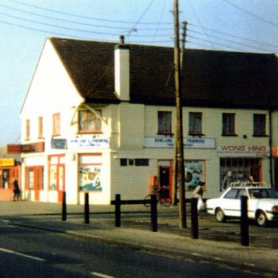 The old Co-op on the corner of Long Road and Denham Road in the 1980s? | Wendy Knight