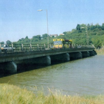 The new bridge looking towards Benfleet Downs. | Wendy Knight