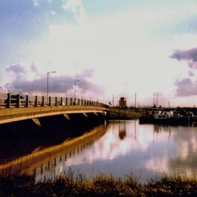The new bridge over Benfleet Creek. | Wendy Knight