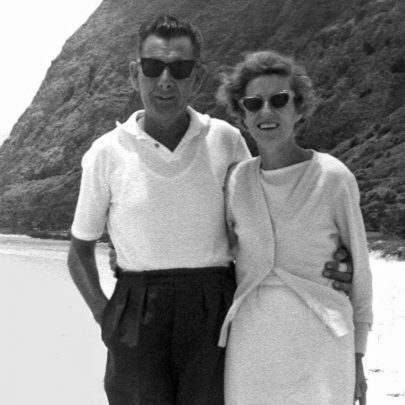 1964 - Henry and Ivy Hollingbery   Shirley Thomas