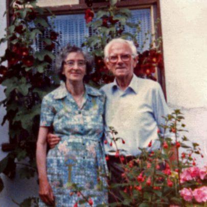 1968 - Hilda and Percy (Jim) Ryder   Shirley Thomas