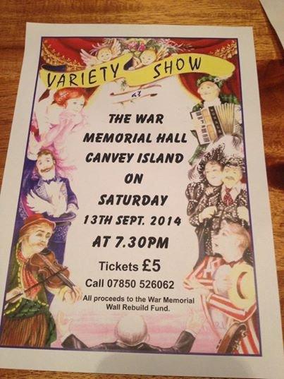 Variety Show at the War Memorial Hall
