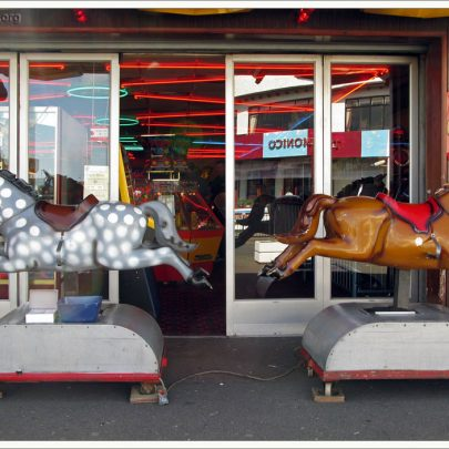 Canvey Seafront: Casino Horses | Dave Bullock