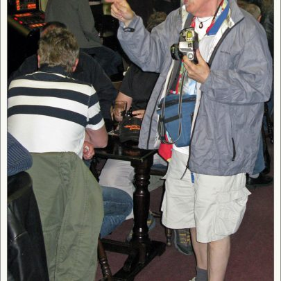 Bob Parks in the Canvey Club | Dave Bullock