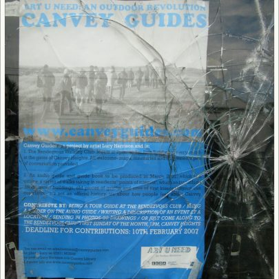 Canvey High Street: Canvey guides Poster in Hartfield Parade | Dave Bullock