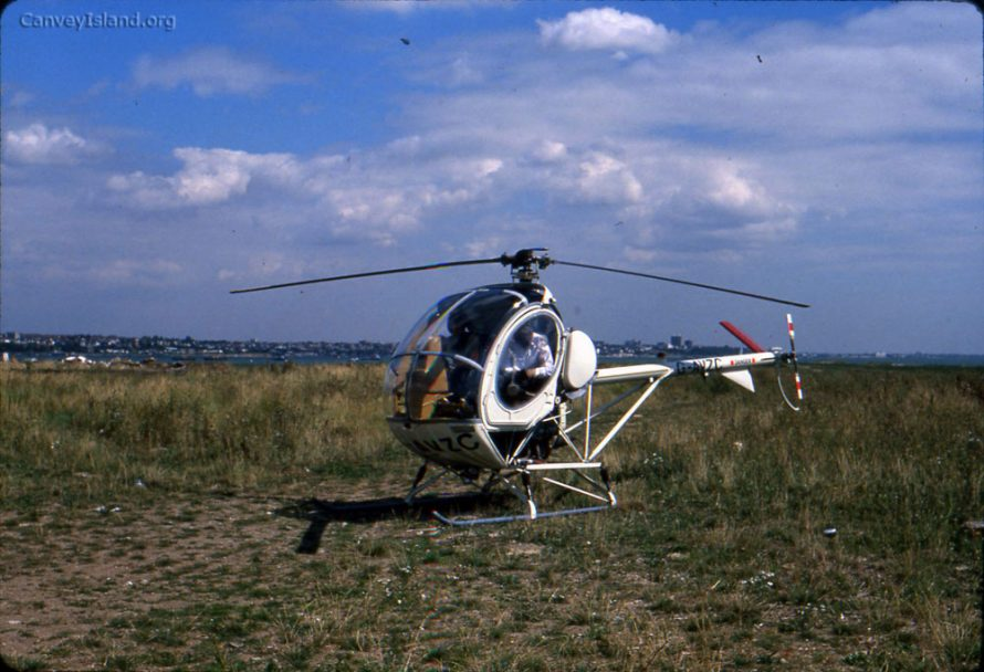 Sandy Munro's helicopter | Ian Hawks