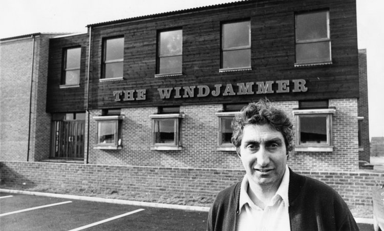 Billy Adams outside the Windjammer | Echo newspaper group and the Rayleigh Town Museum