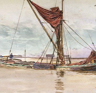 Thames Barge | W L Wyllie