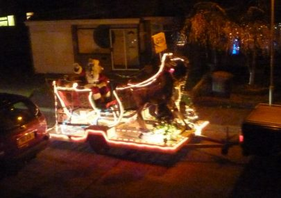 Santa Comes to Canvey