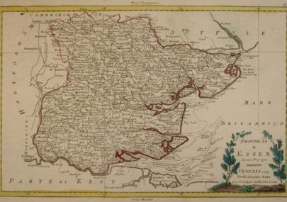 Essex Map dated 1779